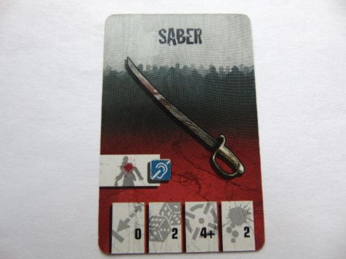 survivor equipment card (sabre)
